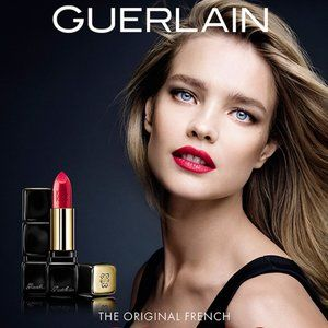Guerlain Kiss Kiss Red on Fire Lipstick on Sale!!